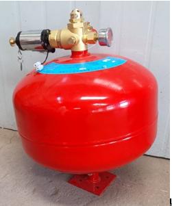 悬挂式七氟丙烷气体灭火装置-电磁型